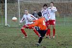 Z utkání FK Holýšov s Rapidem Plzeň 2:2.