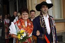 Jitka Krhounová a Zdeněk Anders si pro svoji svatbu zvolili den s magickým datem.