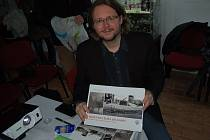 Martin Veselý prostřednictvím knihy přiblížil válečnou minulost Holýšova.