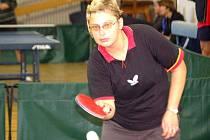 Zdeňka Marešová z Domažlic patří k oporám týmu stolních tenistek Boru.