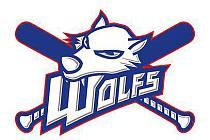Logo baseballistů Wolfs Domažlice.