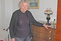 Blažena Froňková  se ve své škodovce proháněla ještě vloni, kdy jí bylo 91 let.