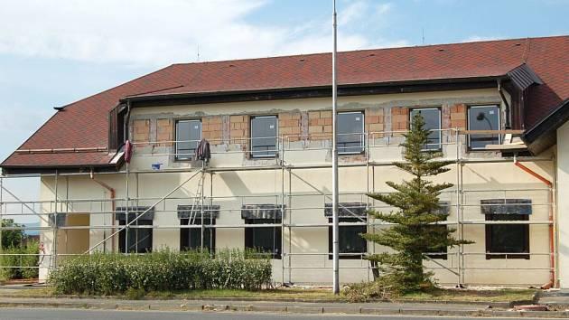 Německá část bývalé celnice ve Všerubech.