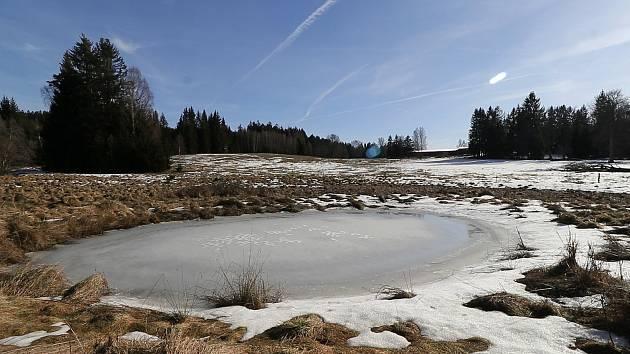 Ilustrační foto tůně v CHKO Český les