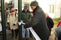 Otevření nového klubu pro seniory ve Kdyni.