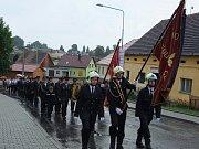 V rámci oslav 140. výročí SDH Kout na Šumavě prošel Koutem také průvod.
