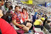 Tahle sestava má drajv! Po ne zcela vydařeném závodě na světovém atletickém šampionátu v katarském Dauhá se fungující dvojice český trenér a japonská závodnice dočkala.