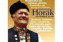 Jaromír Horák na obalu CD.