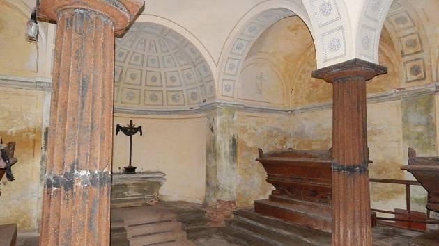 Hrobka rodu Trauttmansdorffů na Sv. Anně.