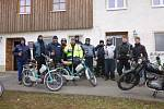 Mopedisté otevřeli sezonu.
