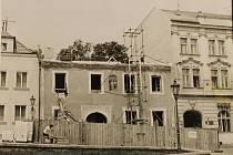 Přestavba archivu v Horšovském Týně, která probíhala v letech 1982 – 1983.