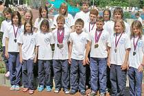 MEDAILOVÁ VÝPRAVA se na závodech v Regensburgu neztratila a přivezla jedenadvacet medailí.