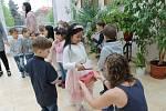 Vystoupení dětí z mateřské školy v Domažlicích.