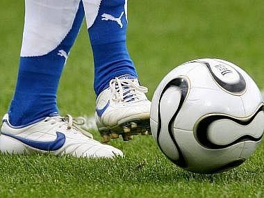 Ilustrační snímek z fotbalu.