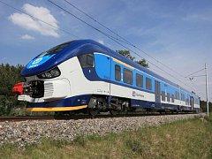 Nová souprva Regioshark bude jezdit i mezi Domažlicemi a Plzní.