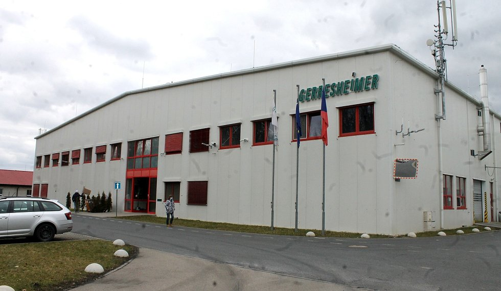 Závod Gerresheimer v Horšovském Týně.