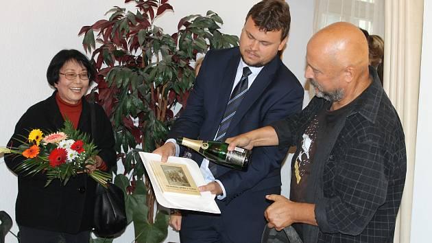 Křest knihy Hraběnka přišla z Tokia.