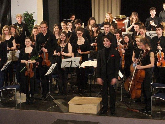 Z koncertu anglického sboru v Domažlicích.