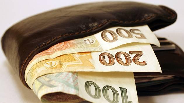 Ilustrační foto. Peněženka.