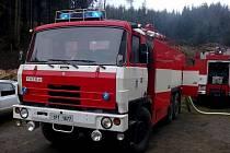 Tatra poběžovických hasičů.