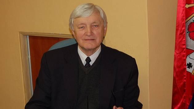 Jan Sazama, starosta Milaveč.