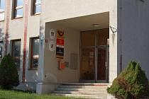 Poštovní pobočka v Pocinovicích.