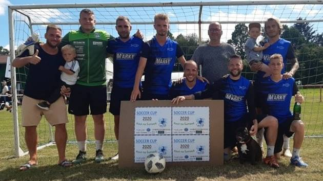 Soccer Cup 2020: 1. místo Vocamcaď Pocamcaď.