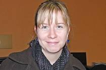 Andrea Chmelíková, pracovnice z Centra zdravotně postižených Domažlice.