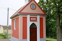 Kaple v Kocourově.