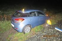 Naštěstí nedošlo ke zranění řidičky.