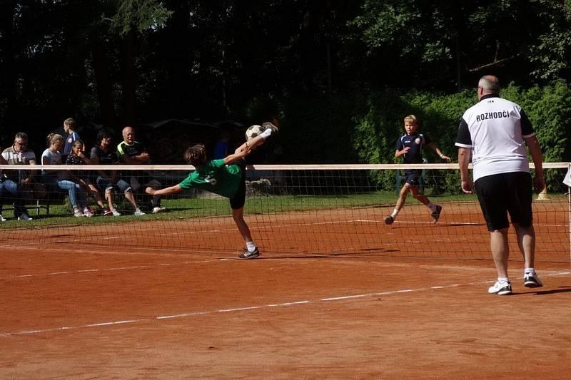 Mladý nohejbalista Ondřej Tolar má stříbro z českého šampionátu.