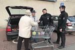 Policisté o adventu realizovali preventivní opatření.