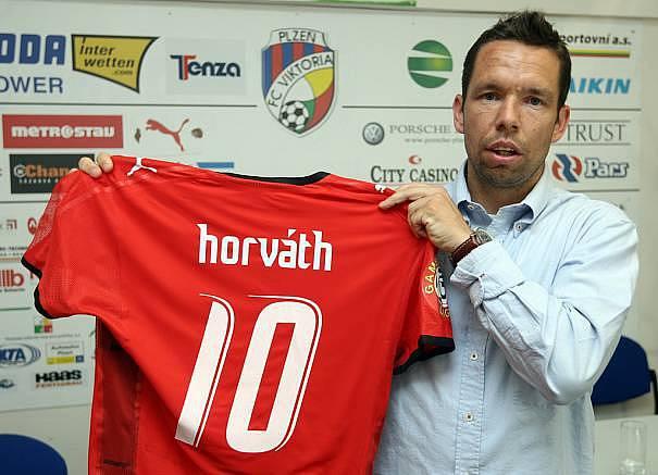 Fotbalista Pavel Horváth.