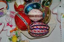 Velikonoční jarmark v domažlickém Zahrádkáři.
