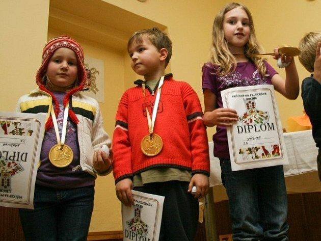 V Pelechách se Prší cupu účastní celé rodiny včetně dětí.