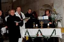 Benefiční koncert - Česká mše vánoční Jakuba Jana Ryby v kostele sv. Václava.