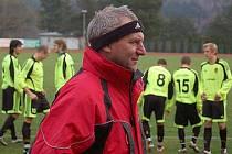 Trenér Jaroslav Patočka.