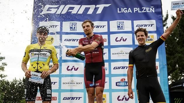 Jan Ryba (uprostřed), Martin Boubal (vlevo) a Pavel Kelemen (vpravo).