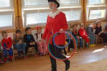 Maškarní karneval v hostouňské mateřské škole.