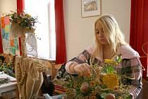 Soutěž v aranžování a vázbě květin Chodský kvítí.