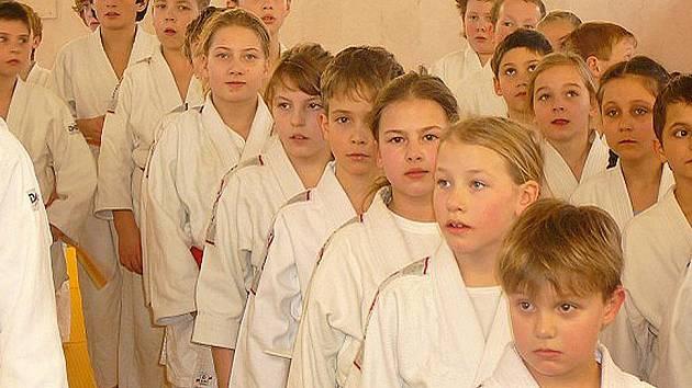 Ilustrační snímek judistů.
