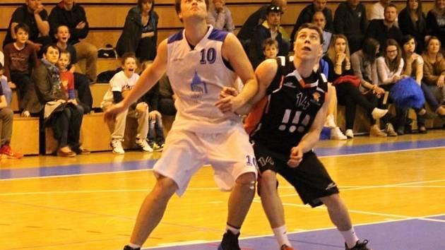 Domažlický basketbalista Pavel Bauer.