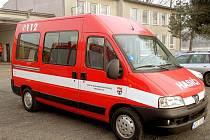 Horšovskotýnští hasiči se nyní budou vozit pohodlně a hlavně bezpečně v novém Peugeotu Boxer.