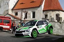 Ilustrační foto z letošní Rallye Šumava.