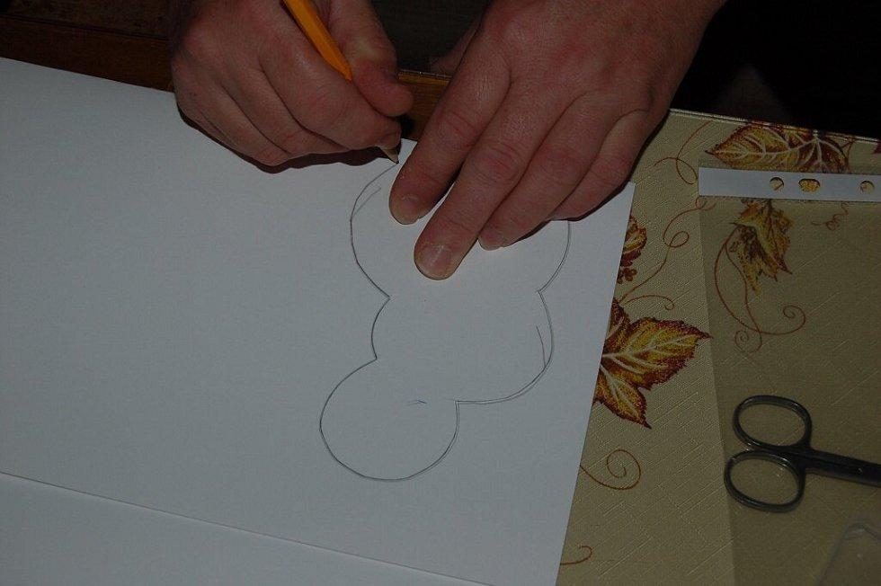 Výroba sněhulákového adventního kalendáře