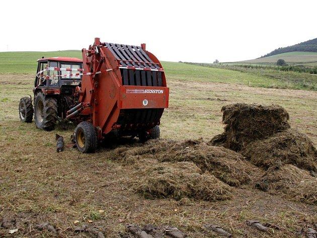 Pod tímto lisem končil život osmačtyřicetiletého soukromého zemědělce z Vítovek u Kdyně.
