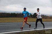 42. ročník Novoročního běhu přilákal do Draženova přes 120 běžců.