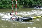 Závodníci vodáckého oddílu Sedmička Horšovský Týn měli na závodech v Plzni medailové žně. Foto: VO 7 HT.