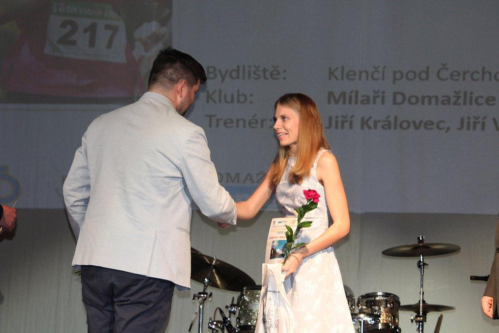 Mládež do 18 let - jednotlivci (bez vyhlášení pořadí): atletka Lucie Kubecová.