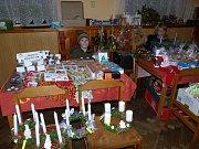 Poběžovičtí školáci měli vánoční jarmark, který vylepšili o kulturní vystoupení.